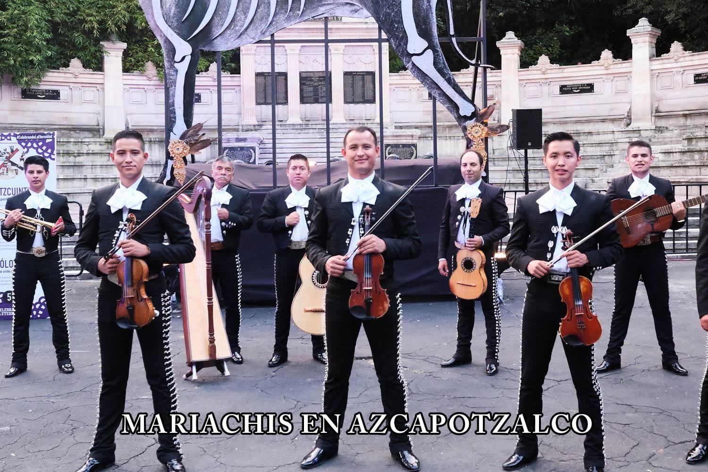 Mariachis en Azcapotzalco