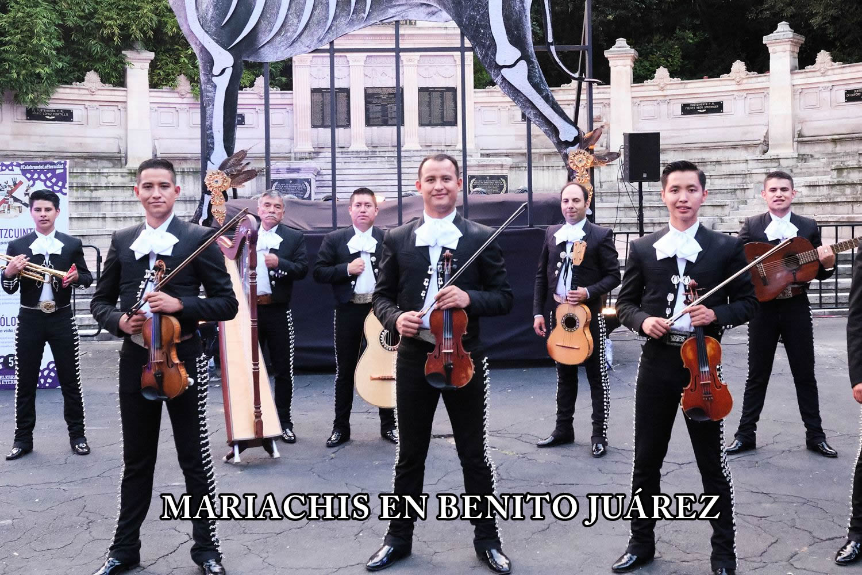 Mariachis en Benito Juarez