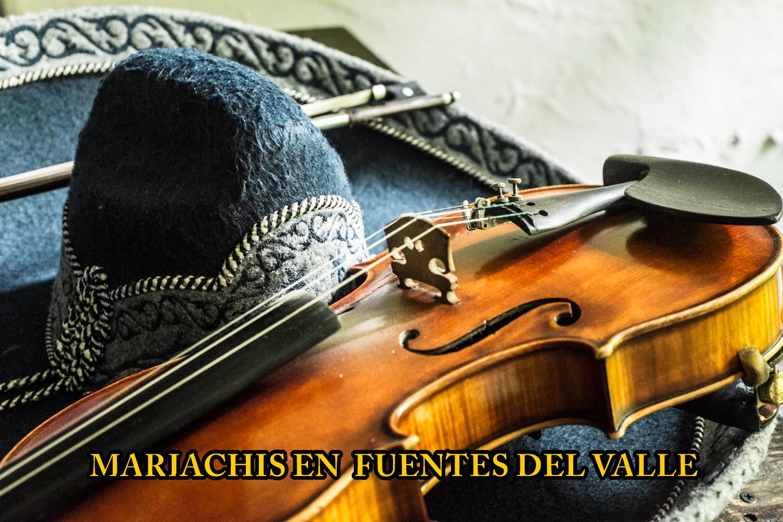Mariachis en Fuentes del Valle