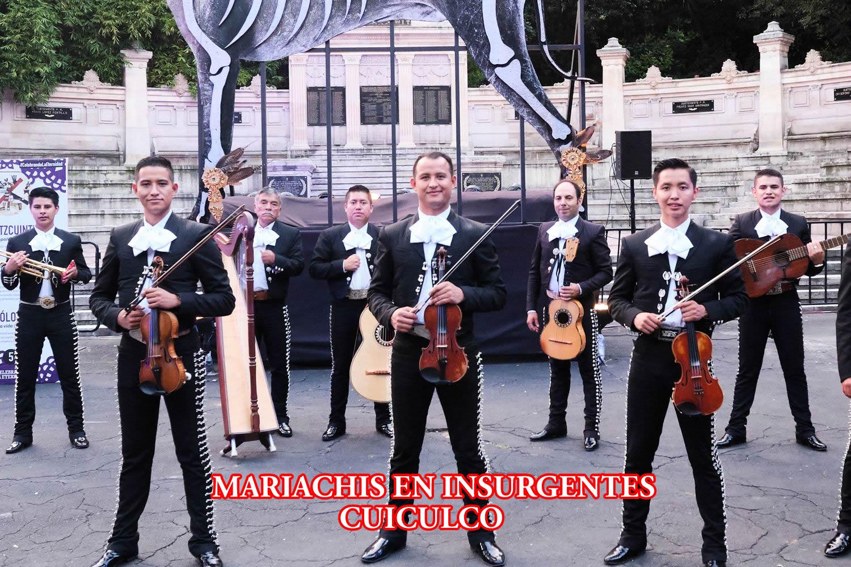 Mariachis en la Colonia Insurgentes Cuicuilco